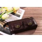 Mulberry Handbags Wallet Natural Leather 8405-342 Dark Coffee