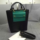 2016 Fall/Winter Mulberry Maple Tote Bag Black Printed Goat
