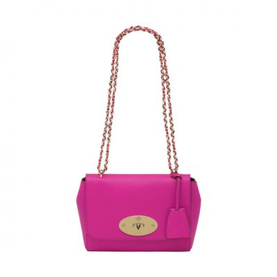 Mulberry Lily Mulberry Pink Glossy Goat