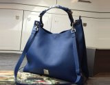 2015 Autumn/Winter Mulberry Small Freya Hobo Blue Goat Printed Calf