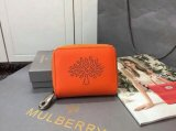 2015 S/S Mulberry Blossom Zip Around Purse 312332 in Mandarin