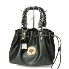 Mulberry Women Daria Drawstring Leathers Tote Bag Black