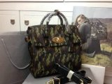 2014 A/W Mulberry Cara Delevingne Bag Khaki Camouflage Haircalf