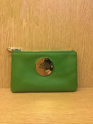2014 Mulberry Daria Pouch in Green Soft Leather