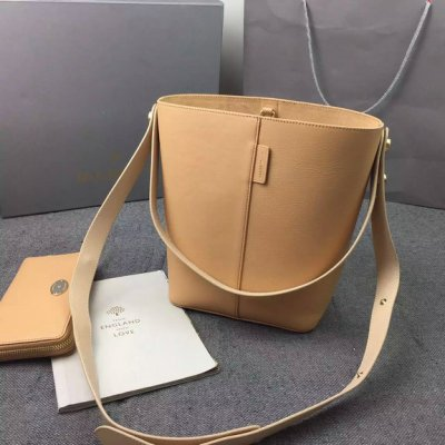 2016 Latest Mulberry Small Kite Tote in Nude & Buttercream Flat Calf Leather