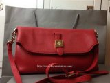 2014 F/W Mulberry Tessie Shoulder Bag in Poppy Red Soft Grain Leather