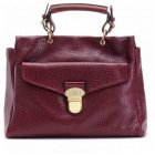 Mulberry Polly Push Lock Tote Bag Purple