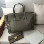 2016 Latest Mulberry New Bayswater Tote Clay Smooth Calf with Studs