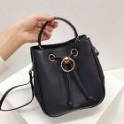2019 Mulberry Small Hampstead Bag Midnight Grain Leather