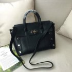2016 Latest Mulberry Small New Bayswater Black Smooth Calf with Studs