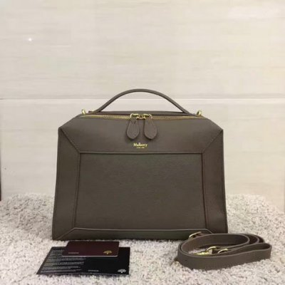 2017 Cheap Mulberry Small Hopton Clay Classic Grain Leather