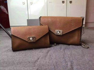 2015 Latest Mulberry Delphie Bag Oak Snake Leather