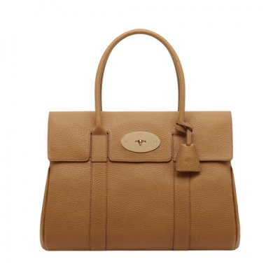 Mulberry Bayswater Deer Brown Soft Grain Leather