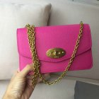 2016 Latest Mulberry Postman's Lock Clutch in Candy Grain Leather
