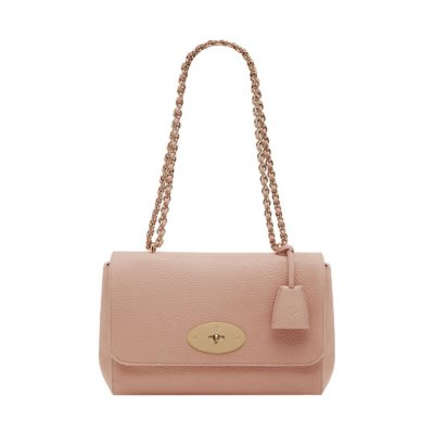 Mulberry Medium Lily Ballet Pink Soft Grain
