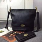 2015 Latest Mulberry Small Jamie Bucket Bag Black Small Grain Leather