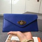 2015 Mulberry Envelope Leather Wallet 312259 in Blue