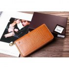 Mulberry Printed Leather Wallet Oak 8002-393