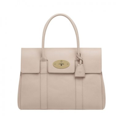 Mulberry Bayswater Oatmeal Micrograin Calf