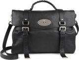 Mulberry Alexa Oversized Polished Leather Satchel