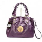 Mulberry Women Daria Drawstring Leathers Tote Bag Purple
