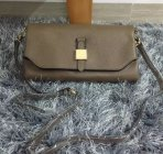 2015 New Mulberry Tessie Shoulder Bag in Taupe Soft Grain Leather