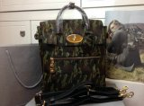 2014 A/W Mulberry Large Cara Delevingne Bag Khaki Camouflage Haircalf