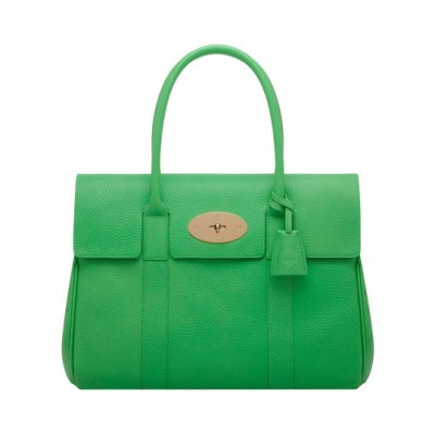 Mulberry Bayswater Queen Green Soft Grain