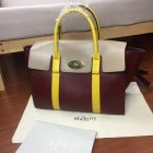 2017 Cheap Mulberry Bayswater with Strap Oxblood, Dune & Sunflower Smooth Calf