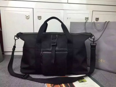 2015 Cheap Mulberry Mens Fleet Holdall Charcoal Coated Canvas