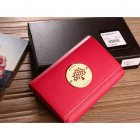 Mulberry Natural Soft Leather Wallet Red 8463-571