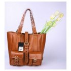 Mulberry Beatrice Tote Black Waxed 7224 Oak