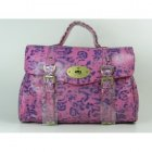 Mulberry Bayswater Natural Leather Fuchsia