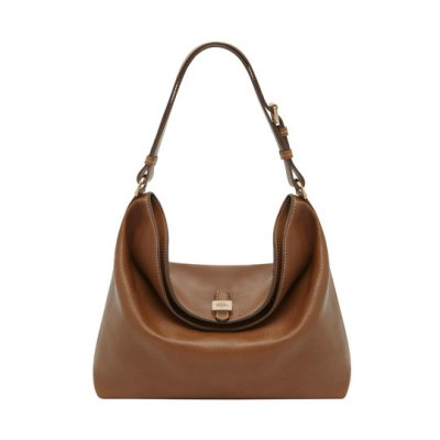 New Mulberry Handbags 2014-Tessie Hobo Oak Soft Small Grain
