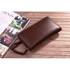 Mulberry Cow Leather Long Chocolate Wallet 8392-342