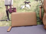 2015 Hottest Mulberry Effie Zip Around Wallet Apricot Leather