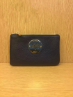 2014 Mulberry Daria Pouch in Navy Blue Soft Leather