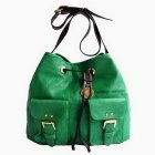 Mulberry Leah Shoulder Bags Green