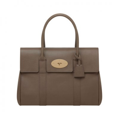 Mulberry Bayswater Taupe Soft Tan