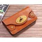 Mulberry 312a Natural Leather Purses Oak