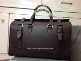 2014 F/W Mulberry Somerton Holdall Chocolate Smooth Saddle