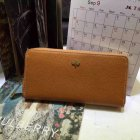 2014 Mulberry Tree Zip Around Wallet Oak Grainy Leather