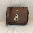 2017 Cheap Mulberry Small Amberley Satchel Oak Grain Leather