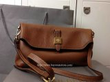 2014 F/W Mulberry Tessie Shoulder Bag in Oak Soft Grain Leather