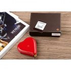 Mulberry Heart Red Patent Leather Wallet 8469-569