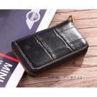 Mulberry Coin Purse 8100-393 Printed Leather Black