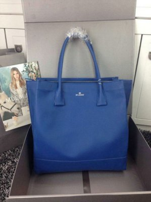 2015 Hottest Mulberry Arundel Tote Bag in Sea Blue Calf Nappa Leather