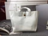 2015 New Mulberry Tessie Tote Bag in Cream Soft Leather