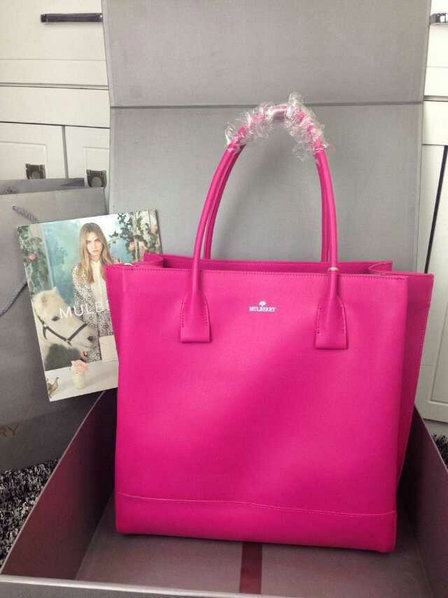 2015 Hottest Mulberry Arundel Tote Bag in Mulberry Pink Calf Nappa Leather