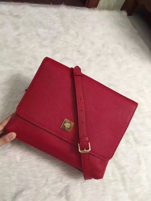2015 Autumn/Winter Mulberry Freya Satchel Fiery Spritz Small Grain Calf Leather